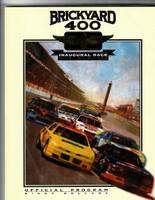 1994 Inaugural Brickyard 400 Program