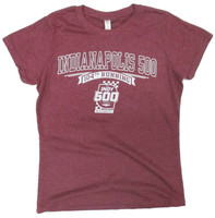 Ladies 2020 Indy 500 Vintage Relaxed Polyblend Tee