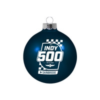 2020 Indy 500 Bulb Ornament