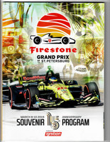 2019 Firestone Grand Prix of St. Petersburg Event Program