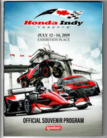 2019 Toronto Honda Indy Event Program