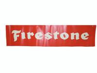 "Indianapolis Motor Speedway Centennial Era FIRESTONE 32""x76"" Banner"