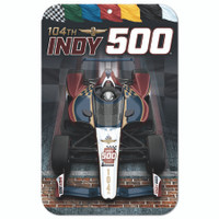 "2020 Indy 500 Event Plastic 11""x17"" Sign"