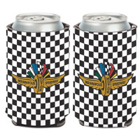 Indianapolis Motor Speedway Checkered Can Cooler