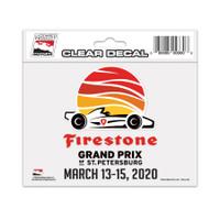 2020 Firestone Grand Prix of St. Petersburg Decal