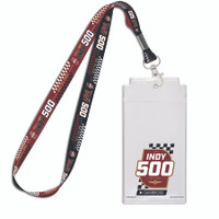 2020 Indy 500 Presented by Gainbridge Credential/Lanyard Set