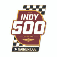 2020 Indy 500 Event Lapel Pin