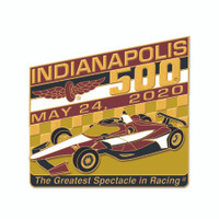 2020 Indy 500 Car Mount Lapel Pin