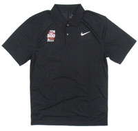 2020 Indy 500 Victory Dry Solid Black Nike Polo