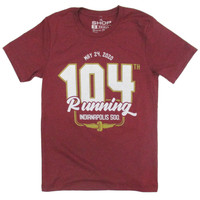 104th Running Indy 500 Polyblend Tee