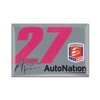 """Alexander Rossi """"27"""" Driver Magnet"""