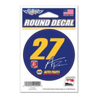 "Alexander Rossi ""27"" NAPA Round Decal"