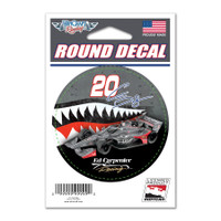 "Conor Daly ""20"" US Air Force Round Decal"