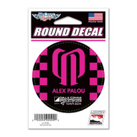 Alex Palou Round Driver Decal