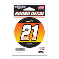 "Rinus Veekay ""21"" Round Decal"