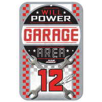 """Will Power 11""""x17"""" Plastic Sign"""