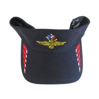Indianapolis Motor Speedway Hex Tech Navy New Era Visor