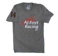 """A.J. Foyt Racing """"14"""" Polyblend Tee"""