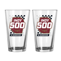 2020 Indy 500 Event Ale Glass