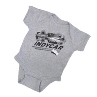 Infant INDYCAR Series Grey Onesie