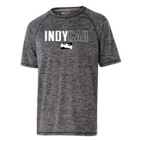 INDYCAR Logo Black Heather Performance Tee