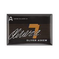 """Oliver Askew """"7"""" Driver Magnet"""