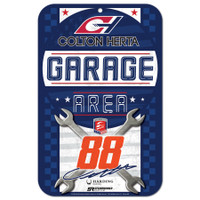 "Colton Herta 11""x 17"" Plastic Sign"