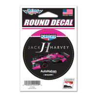 Jack Harvey Round Decal