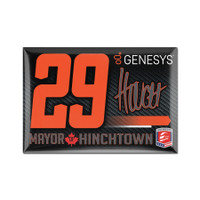 James Hinchcliffe Driver Magnet