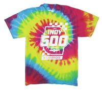2020 Indy 500 Event Tie Dye Tee
