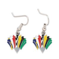Race Flags Earrings