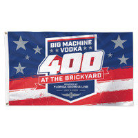 2020 Brickyard 400 Big Machine Vodka 3' x 5' Event Flag