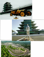 Indianapolis Motor Speedway Postcard Set
