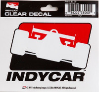 INDYCAR Clear Logo Decal