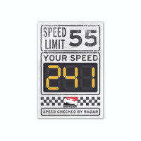 INDYCAR Speed Limit Sign