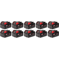 M18ª REDLITHIUMª XC4.0 Extended Capacity Battery Ten Pack