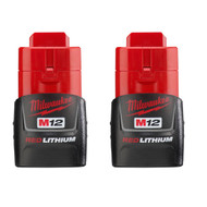 M12 REDLITHIUMª Compact Battery Two Pack