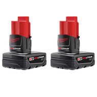 M12 REDLITHIUMª XC Battery Two Pack