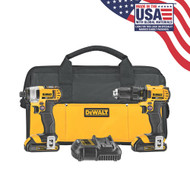 20V MAX 2 Tool (DCD780 & DCF885) w/ 2 Batteries (1.5Ah) and Bag