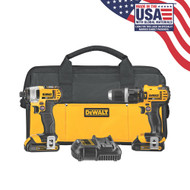 20V MAX 2 Tool (DCD785 & DCF885) w/ 2 Batteries (1.5Ah) and Bag