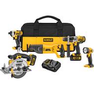 20V MAX 5 Tool  w/ 2 Batteries (3.0Ah) and Bag