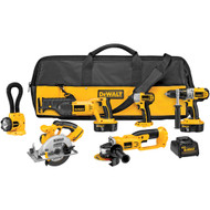 18V XRP NiCad 6 Tool (DCD950, DC390, DC385, DC825, DC411, DW919) w/ 2 Batteries and Bag