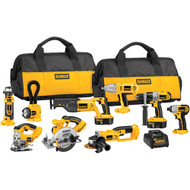 18V XRP NiCad 9 Tool (DCD950, DC390, DC385, DC825, DC411, DW919, DC330, DC550, DW059) w/ 2 Batteries and 2 Bags
