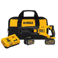 60V MAX FLEXVOLT Reciprocating Saw Kit w/ 2 Batteries (6Ah), Charger and Bag