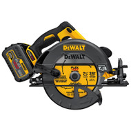 "60V MAX FLEXVOLT 7-1/4"" Circular Saw Kit w/ 1 Battery (6Ah), Charger and Bag"