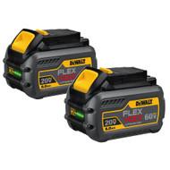 20V/60V MAX FLEXVOLT Battery (6Ah) 2 Pack