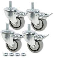 """3"""" Dual-Locking Caster Set(4)"""