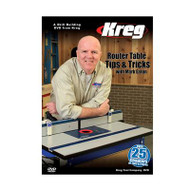 DVD: Router Table Tips & Tricks with Mark Eaton