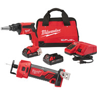 Milwaukee 2866-22CTP Drywall Screwgun Kit with Cutout Tool