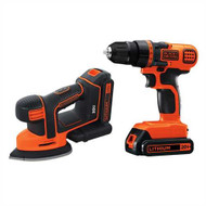20V MAX* Lithium Ion Drill/Driver and MOUSEå¨ Detail Sander Combo Kit